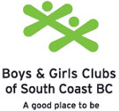 Boys and Girls Clubs of South Coast BC logo