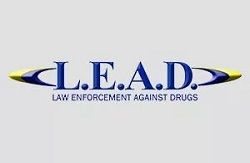 Law enforcement against drugs Logo